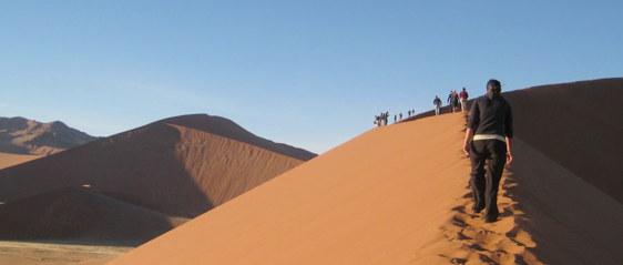 African Sand Dunes