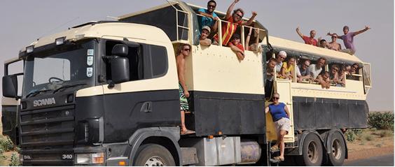 African slum tours