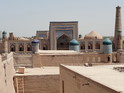 Old city in Central Asia